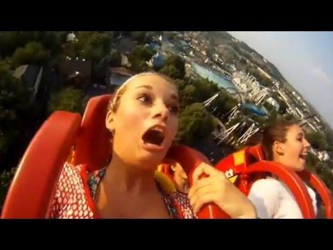 Funny Roller Coaster Reactions TOP 30 ✔ JANXEN - ROLLERCOASTERIX 1.0 Rollercoaster Ride Compilation