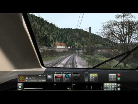Train Simulator 2014: Finnentrop (3) to Hagen (hbf 4)(Hitachi Super Express)