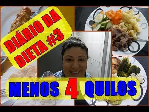 DIÁRIO DA DIETA #3 - 4 QUILOS ELIMINADOS!!
