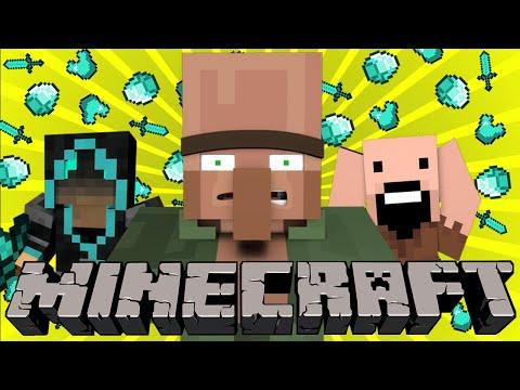 Если бы ФРОСТ убил всех НОСАТЫХ - Minecraft Machinima