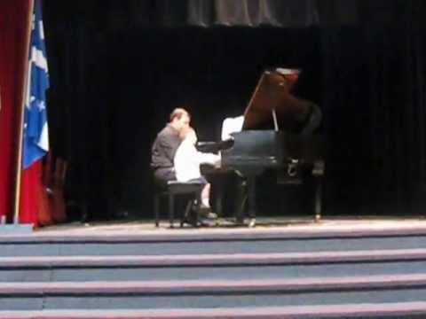 Adrian Ghazaryan MacDonald J Bastien, Young Pianists' Annual Concert June 2013 Montreal Canada