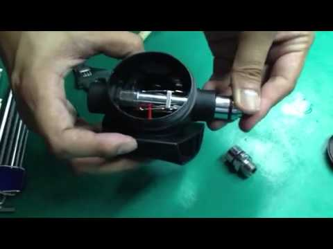 How to change RG10 left inlet to right inlet