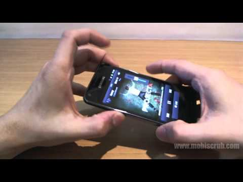 Samsung Galaxy S Advance review video