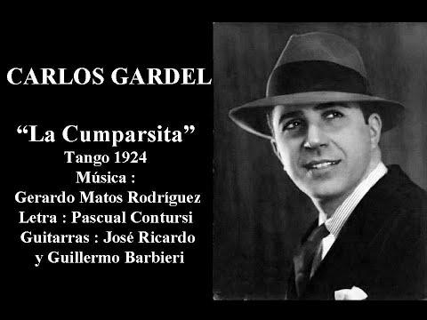 Carlos Gardel La Cumparsita Tango