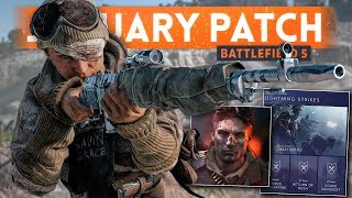 JANUARY PATCH UPDATE EARLY DETAILS! - Battlefield 5 Lightning Strikes (Kill Cam, Co-op & New Weapons
