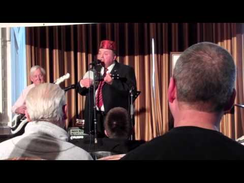 Derek Herbert performs at the March 2013 George Formby Society convention