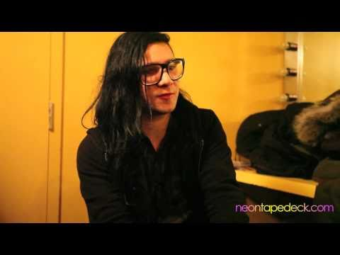 Skrillex responds to the haters in neontapedeck interview