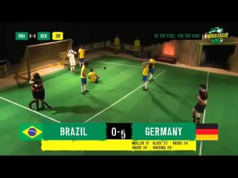 Brazil vs Germany 1 7 Full Highlights Parody ~ World Cup 2014
