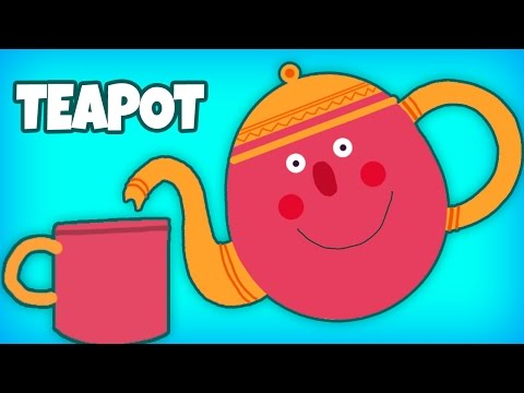 I'm A Little Teapot | Nursery Rhymes | English Nursery Rhyme For Children & Kids Action Song