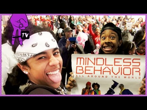 Mindless Behavior Meet Fans In Chicago - Mindless Takeover Ep. 72