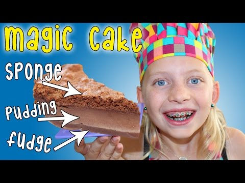 Kid Size Cooking: Magic Cake