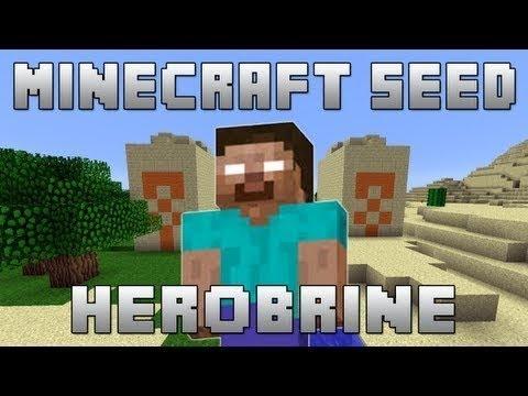 Minecraft Pocket Edition: Herobrine Seed?
