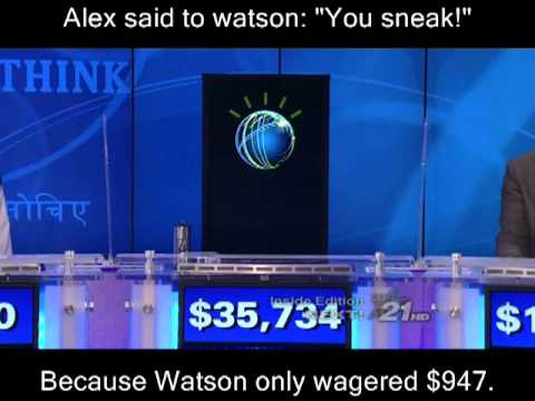 Jeopardy Watson IBM Fast Computer Artificial Intelligence Software Win Million Donation Human Ken Je