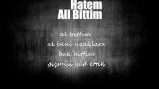Hatem - Al bittim (2017) (Lyrik Video)