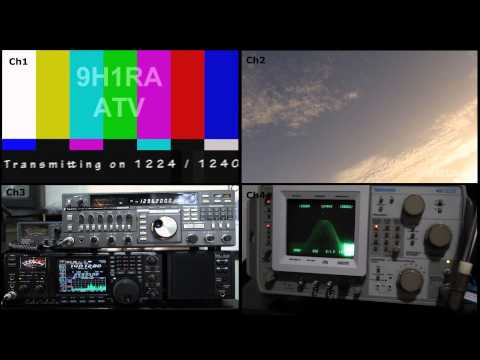 9H1RA ATV Station 1.2 Ghz
