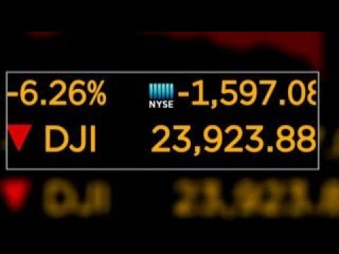 Dow drops nearly 1,600 points