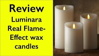 Review Luminara Flameless Candle - How does it work?