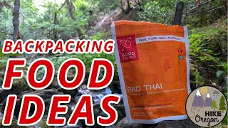 Backpacking Food Ideas | What I Eat On A Backpacking Trip