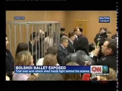 Bolshoi Dancer gets six years' jail for acid attack