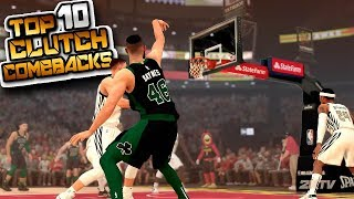 "NBA 2K19 Top 10 ""CLUTCH COMEBACK"" Buzzer Beater Plays Of The Week #29"