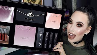 NEW Anastasia Beverly Hills PRISM Palette +  ENTIRE Holiday Collection Review, Swatches & Demo