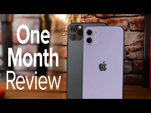 iPhone 11 amp iPhone 11 Pro One Month Review!