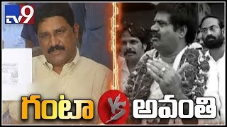 Ganta Srinivasa Rao vs Avanthi Srinivas Rao war of words
