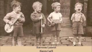 Watch Hayes Carll Barroom Lament video
