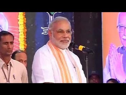 BJP leaders have moulded me: Modi's victory speech