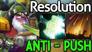 Resolution [Sniper] Anti Push with Mjollnir 7.14 Dota 2