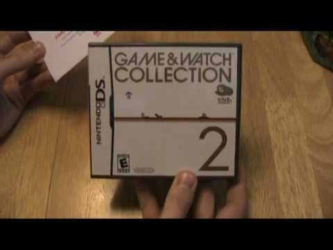Game and Watch Collection 2 Nintendo DS: First Look