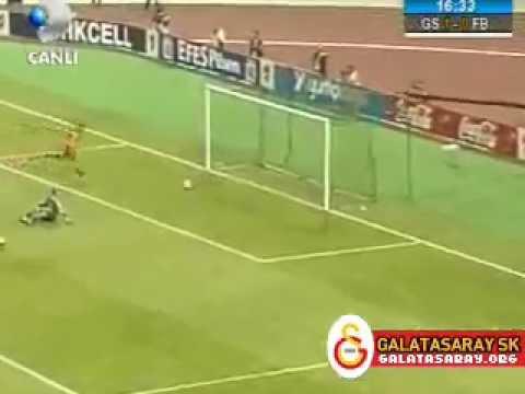 Franck Ribery - Galatasaray 5 - 1 Fenerbahçe.. (-1.GOL-) 11.05.2005