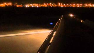 *FUNNY FLIGHT ATTENDANT* AirTran 717 Night Landing in Atlanta (KATL) *HD*