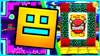 Minecraft - How to Make a Portal to GEOMETRY DASH