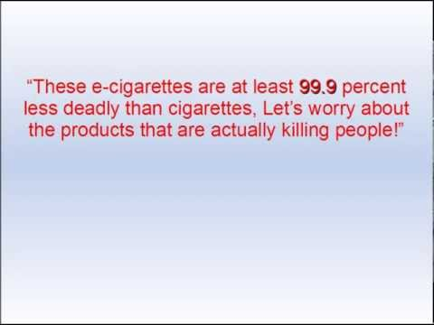Experts Talk Electronic Cigarette Health Risks