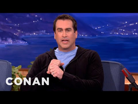 Rob Riggle Brings The High Heat To Royals' Batting Practice - CONAN on TBS