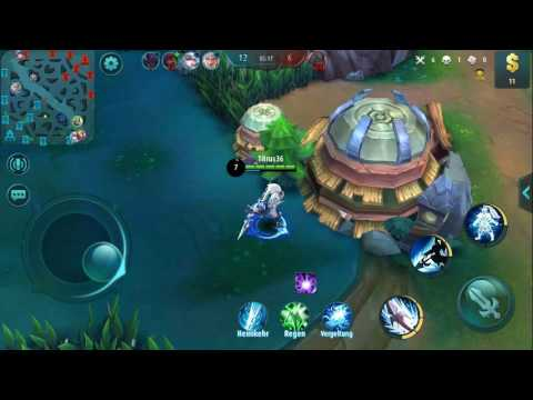 Mobile Legends Yun Zhao gameplay 5 vs 5
