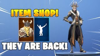 THE ICE QUEEN & MAGNUS Are Back! Fortnite Item Shop February 21, 2019