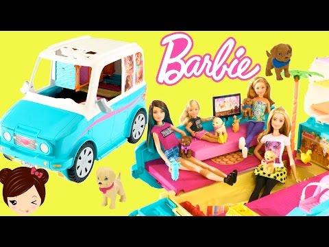 Barbie Coche y Parque de Perritos en Busca de Tesoro - Juguetes de Barbie