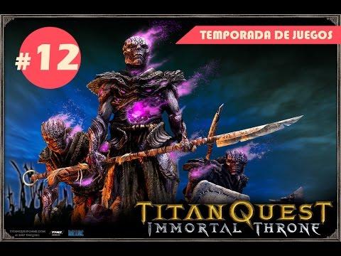 Guia Titan Quest immortal throne, pc, español, cooperativo, capitulo 12