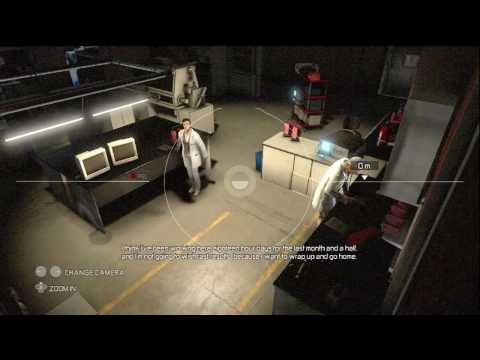 Splinter Cell Conviction Playthrough Mission 6 White Box Laboratories 1/4 HD