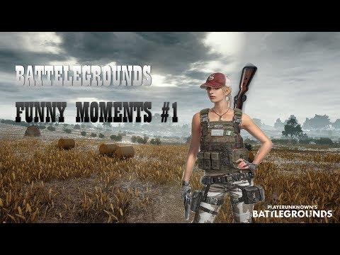 WTF l Battlegrounds funny moments (PUBG) #1