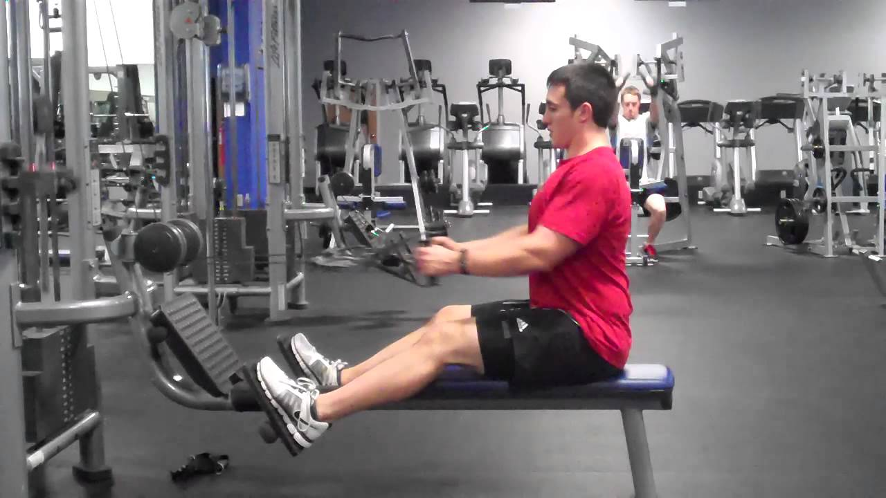 Dual Axis Pulley Row Youtube