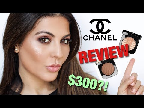 I TRIED NEW CHANEL MAKEUP WORTH $300   FOUNDATION, HIGHLIGHTER + BRONZER REVIEW