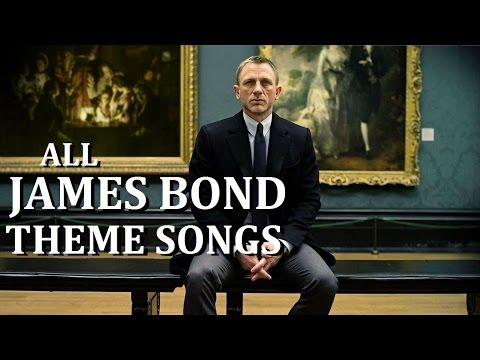 All James Bond Movie Theme Songs ~ Including Skyfall video