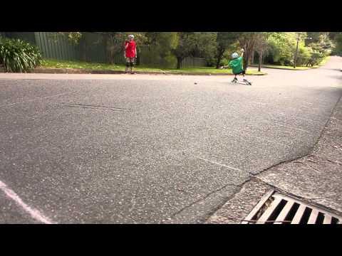 Adam Olinn - 13 year old longboarder promo