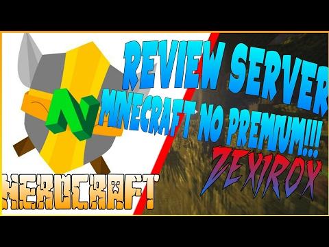 REVIEW SERVER NEROCRAFT MINECRAFT PC NO PREMIUM-RANGO YOUTUBER/ZEXIROX