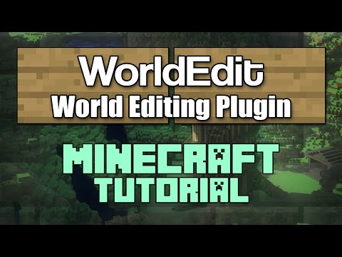 World Edit Minecraft Plugin Tutorial 1.11