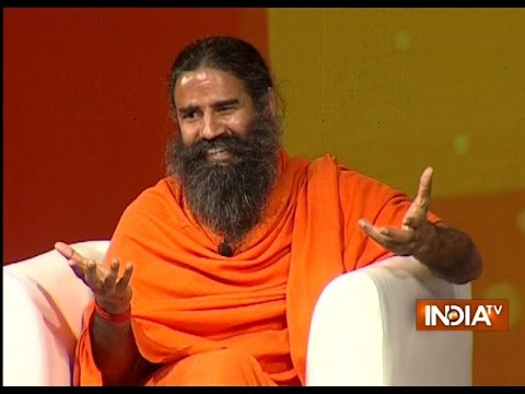 IndiaTV Samvaad: Yoga Guru Baba Ramdev at India TV Conclave on 2-yrs of Modi Govt