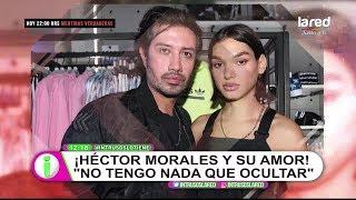 El amor en libertad que vive Héctor Morales con modelo colombiana trans